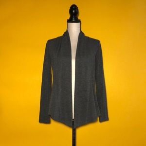 BCX open front cardigan sweater
